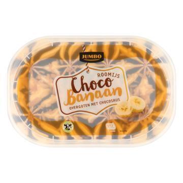 Jumbo Roomijs Choco Banaan 500 g (500g)