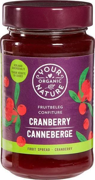 Cranberry fruitbeleg (250g)