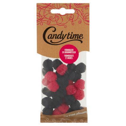 Candy Time Candy Time Frambozen en braambessen (150g)