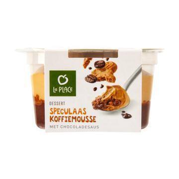 La Place Dessert Speculaas Koffiemousse met Chocoladesaus 75 g (75g)