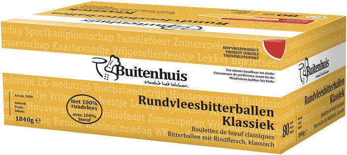 RUNDVLEESBITTERBAL KLS (80 × 23g)
