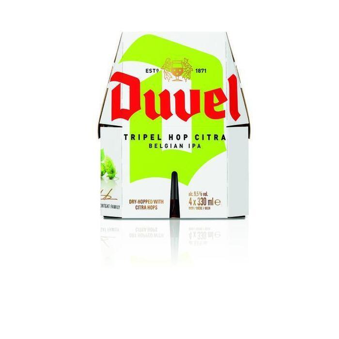 Duvel Triple hop 4-pak (4 × 33cl)