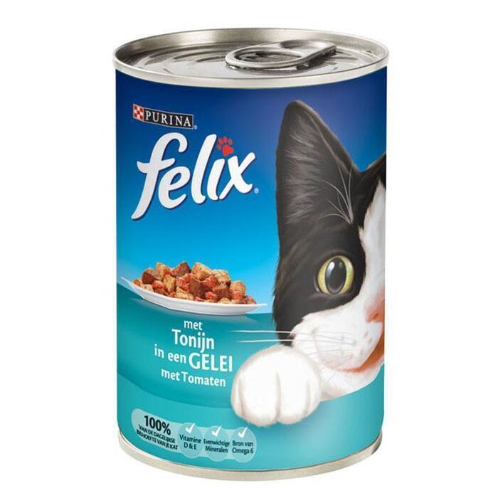 Felix met Tonijn in een Gelei met Tomaten 400g (60g)