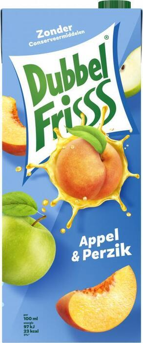 Dubbel Frisss Appel & Perzik (Stuk, 1.5L)