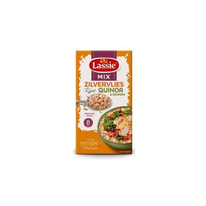 Zilvervliesrijst met quinoa en granen (Stuk, 275g)