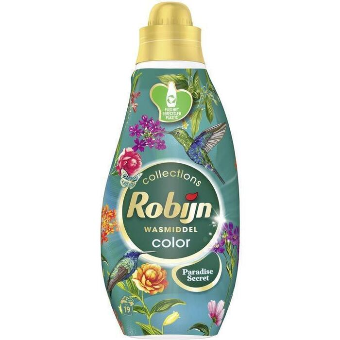 Robijn Wasmiddel klein & krachtig color paradise secret (0.66L)