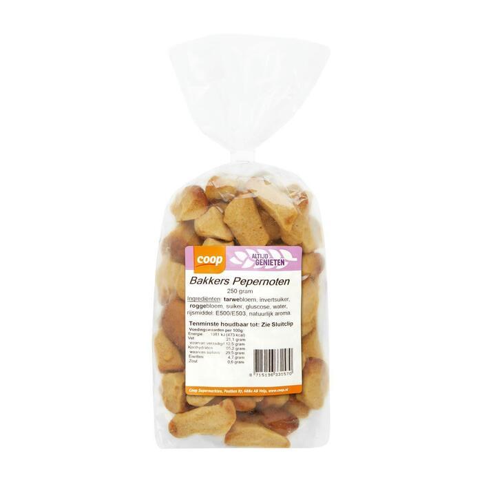Coop Bakkers pepernoten (250g)
