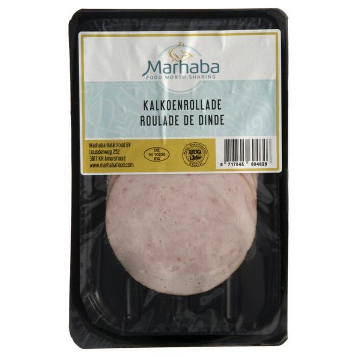 Marhaba Kalkoenrollade (100g)