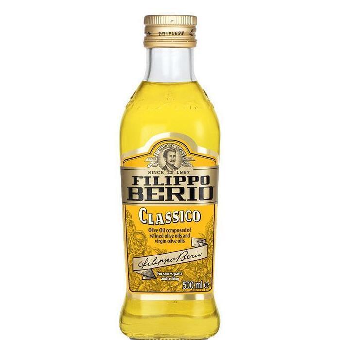 Olive oil (glazen fles, 0.5L)