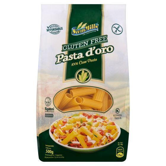 Sam Mills Gluten Free Pasta d'Oro Rigatoni 500 g (500g)