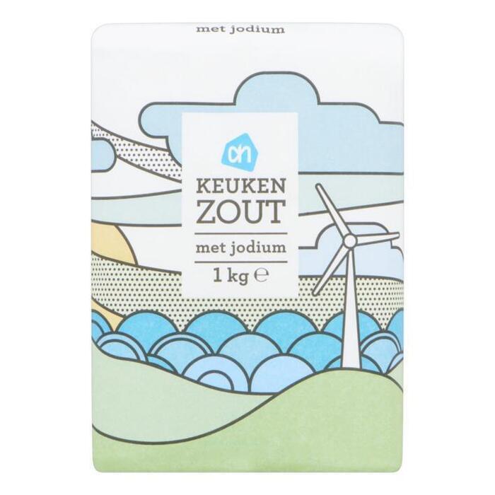Keukenzout met jodium (zak, 1kg)