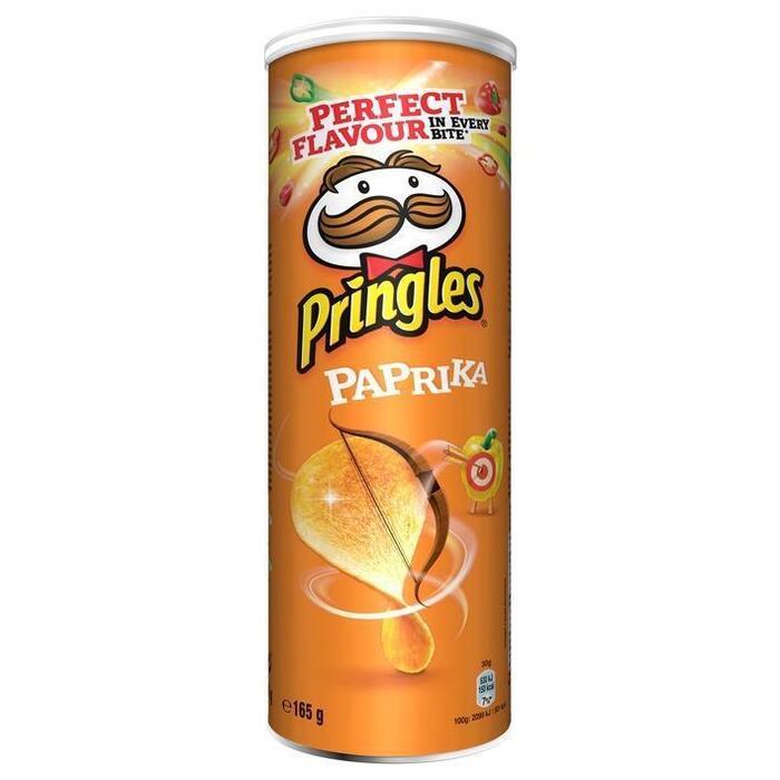 Pringles Paprika 165 g (Stuk, 165g)