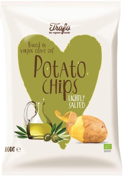 Aardappelchips (gebak. in olijfolie) (100g)