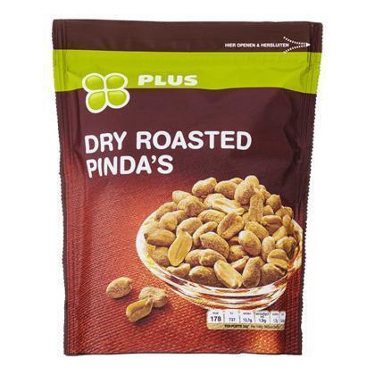 Dry roasted pinda's (200g)