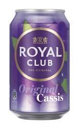 Tray royal club cassis, blik (rol)