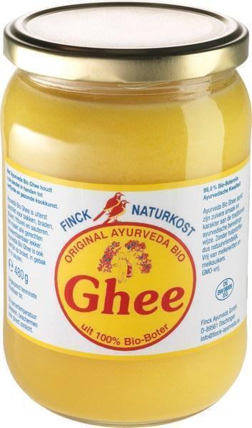 Geklaarde boter (ghee) (480g)