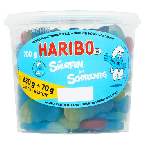 Haribo de Smurfen 700 g (700g)
