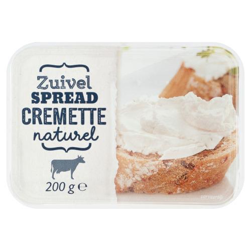 Cremette Zuivelspread Naturel 200 g (200g)