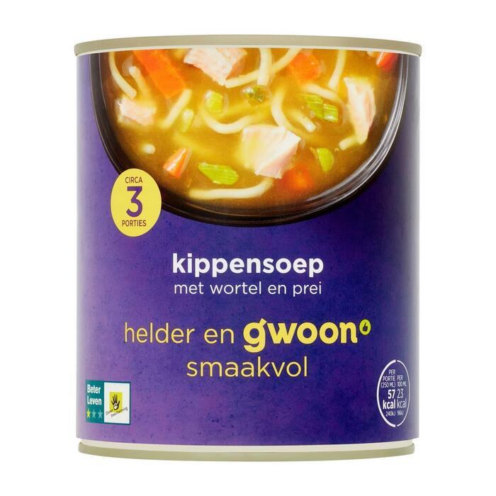 g'woon Kippensoep (0.8L)