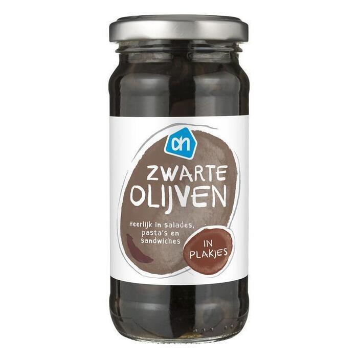 Zwarte olijven plakjes (240g)