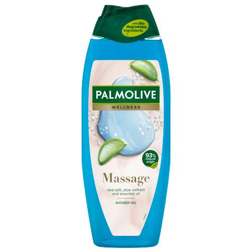 Palmolive Wellness Massage douchegel met zeezout, aloë vera-extract en etherische oliën 650ml (0.65L)