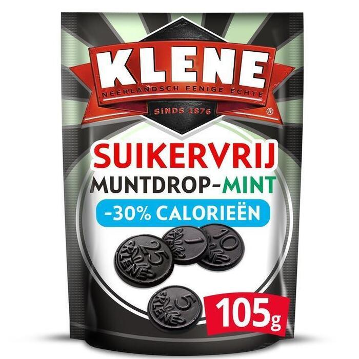 Klene Muntdrop mint suikervrij (105g)