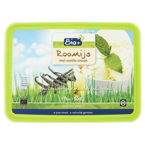 Roomijs met vanille smaak (1L)