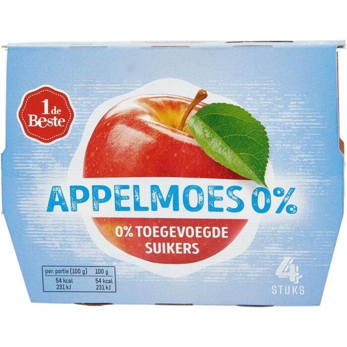 Appelmoes 0% suikers (400g)