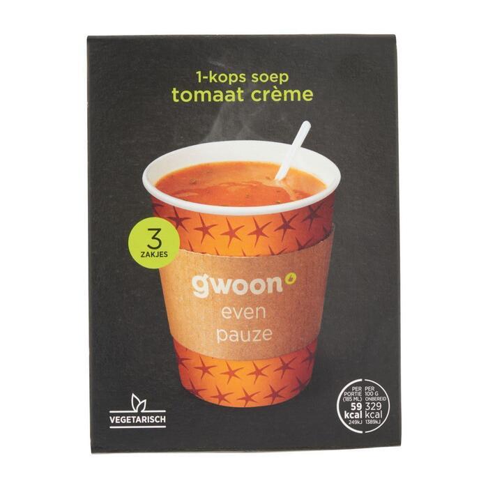 g'woon Tomaten crème soep (54g)
