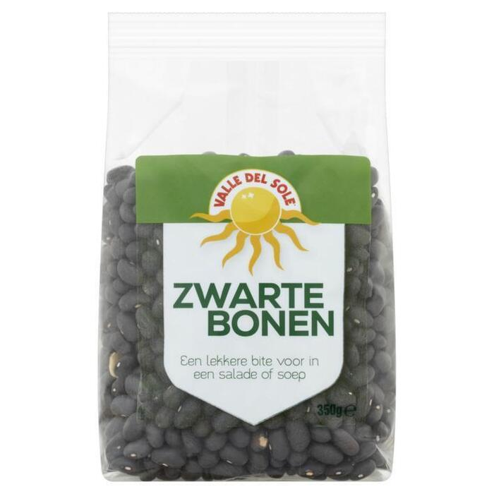 Valle del sole Zwarte bonen (350g)