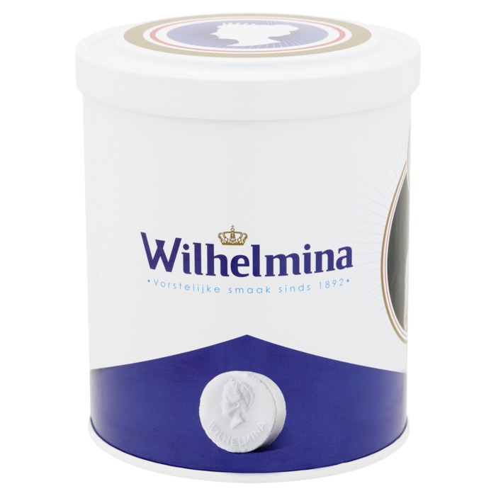 Wilhelmina pepermunt luxe blik 2018 500g (500g)