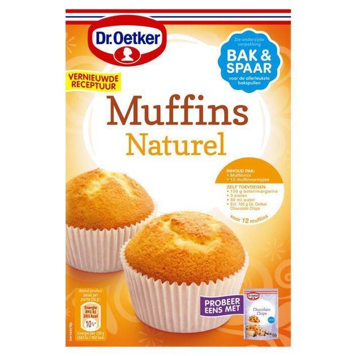 Dr. Oetker Muffins naturel (350g)