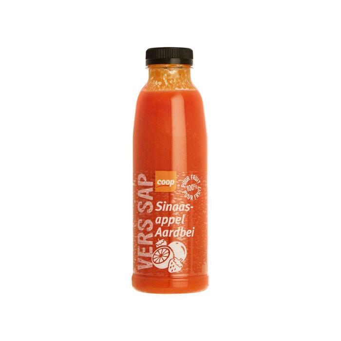 Coop Vers sap sinaasappel aardbei (petfles, 0.5L)