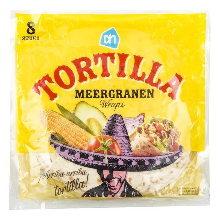 Tortilla wraps meergranen