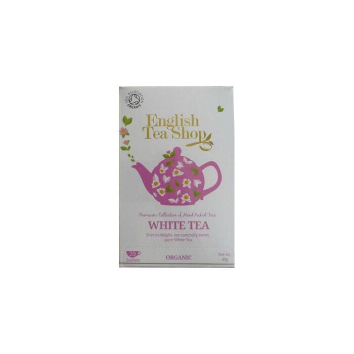English Tea Shop White Tea 20 Stuks 40 g (Stuk, 20 × 40g)