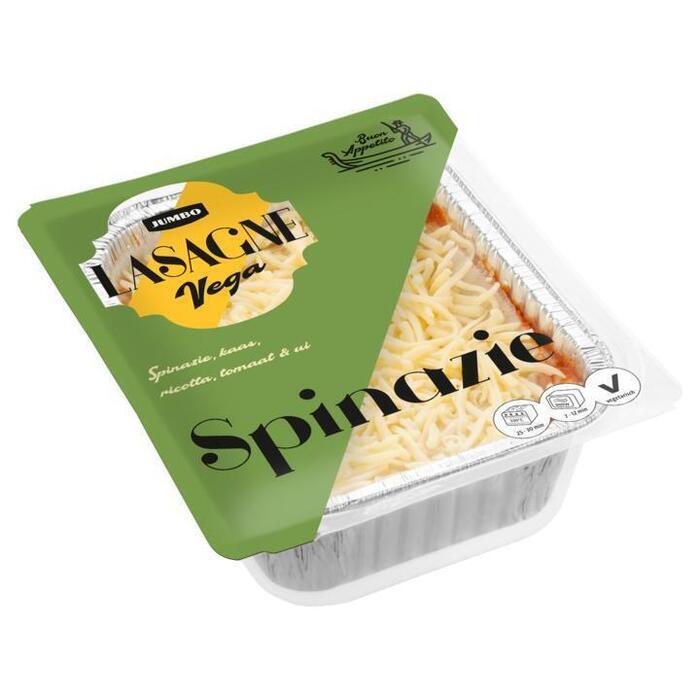Jumbo Lasagne Vega Spinazie 400 g (400g)
