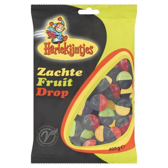 Harlekijntjes Zachte Fruit Drop 400g (400g)