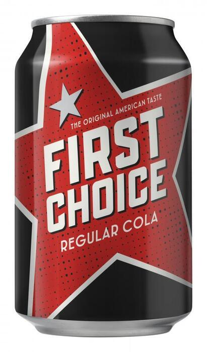 First Choice Cola (rol, 33cl)