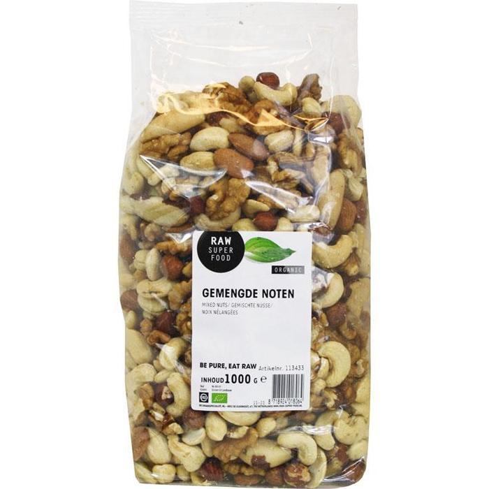 RAW Gemengde noten (1kg)