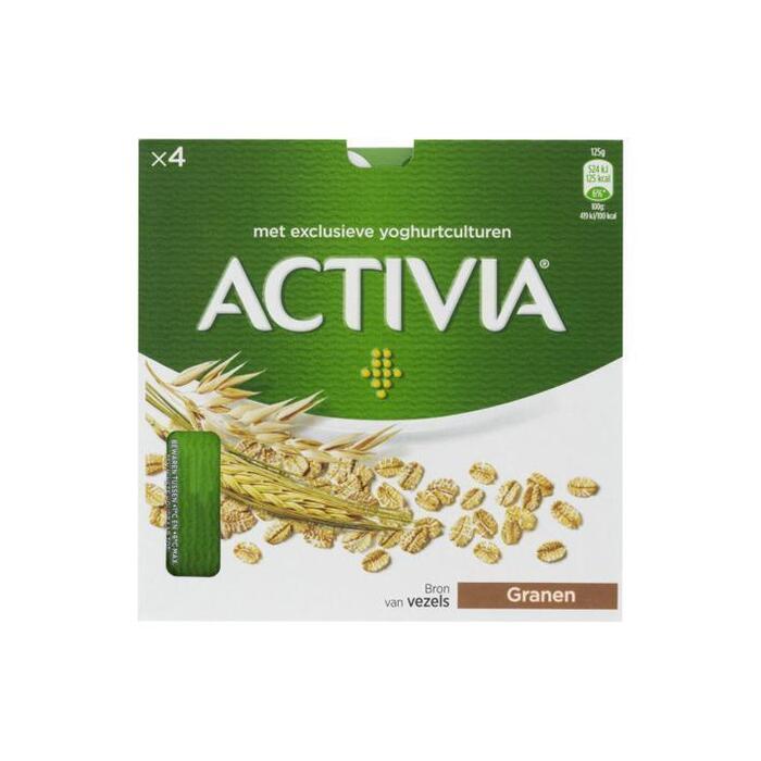 Activia Yoghurt granen (4 × 125g)