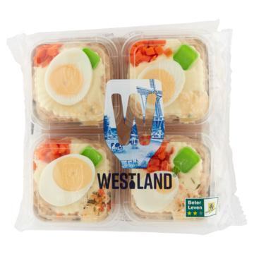 Westland Rundvleesslaatje 4-pack (4 × 140g)
