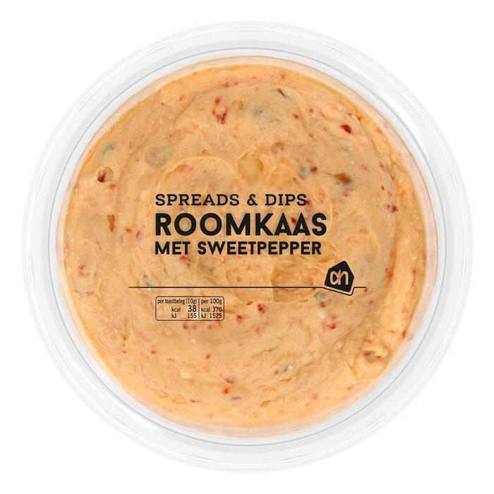 AH Roomkaas met sweetpepper (130g)