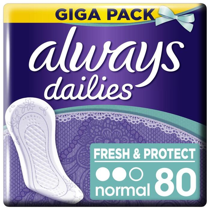 Always Fresh&protect inlegkruisjes normal