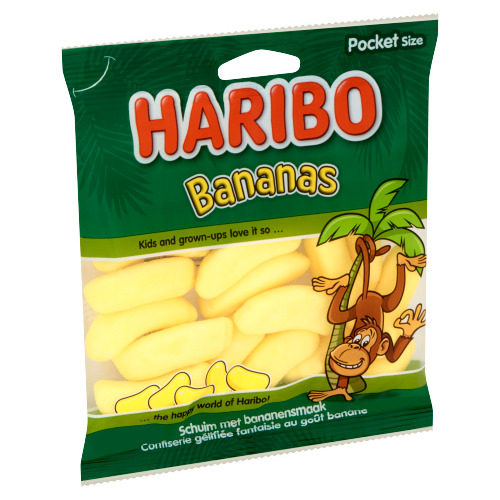 Haribo Bananas Pocket Size 70 g (70g)