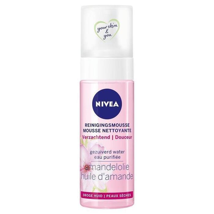 Nivea Reinigingsmousse droge huid (150ml)