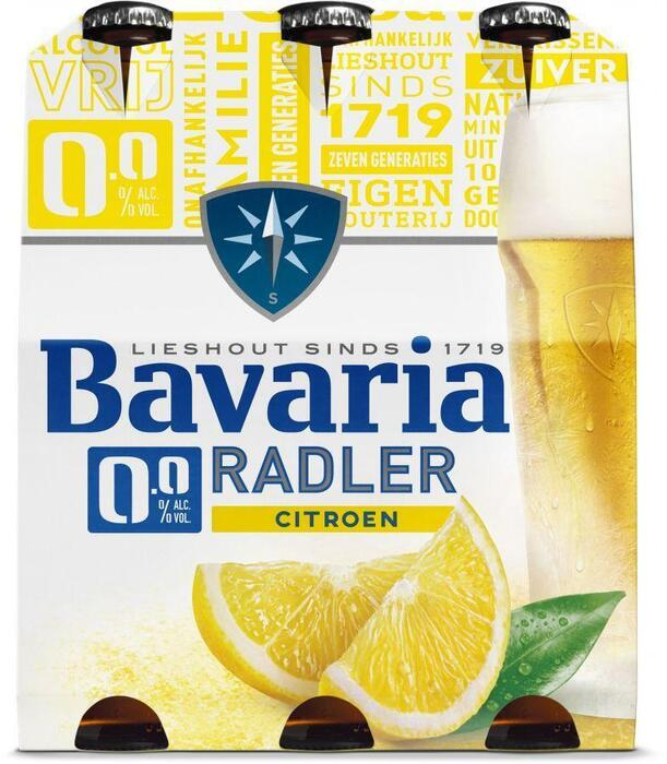 Bavaria 0.0% Radler (rol, 6 × 1.8L)