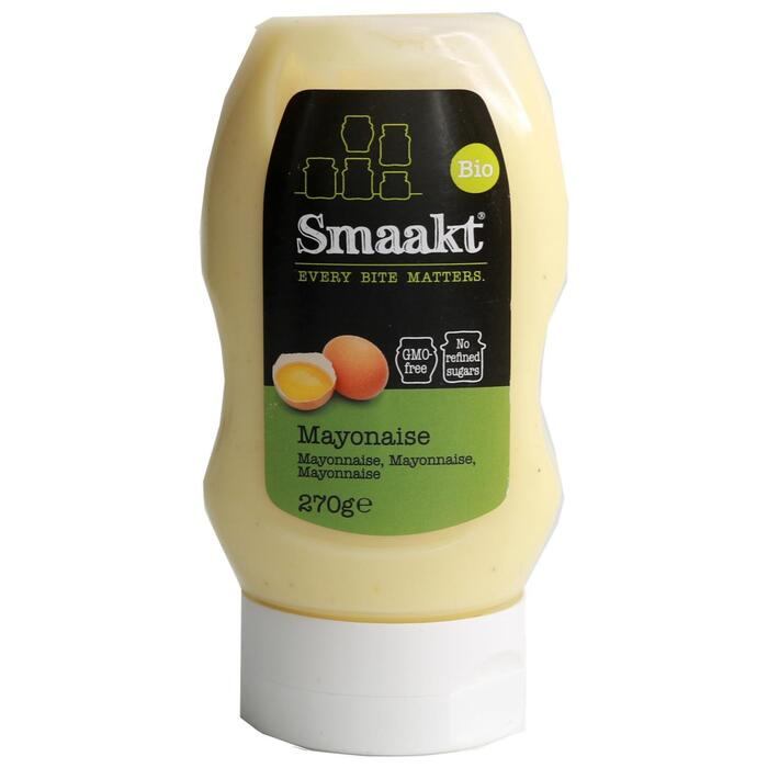 Biologisch Mayonaise met Zonnebloemolie (knijpfles, 30cl)