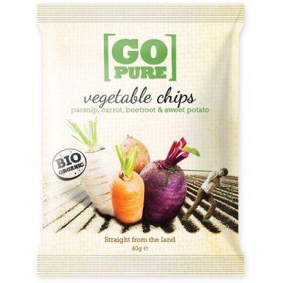Bio chips groente (40g)
