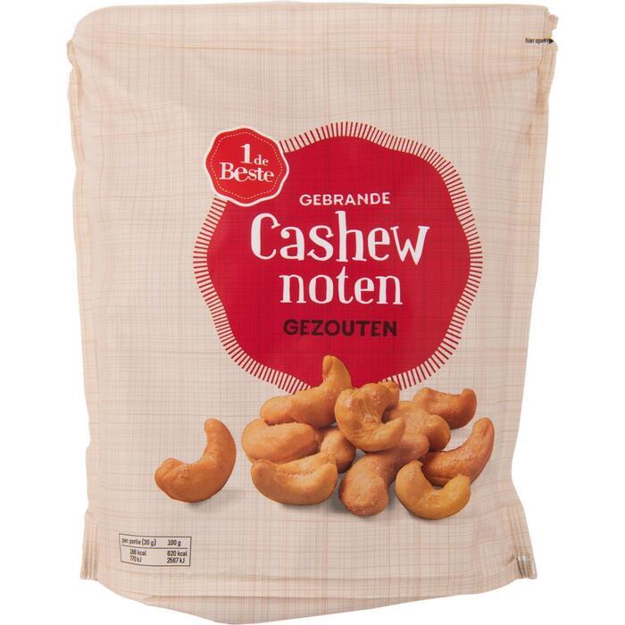 1 DE BESTE gezouten cashewnoten 350 gram (350g)
