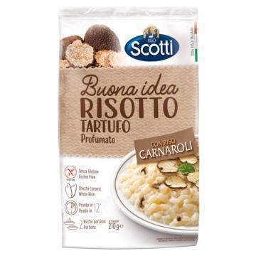 Riso Scotti Risotto met Truffel 210 g (210g)